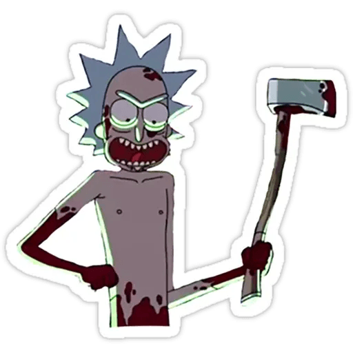 Rick & Morty 4 - Sticker 15