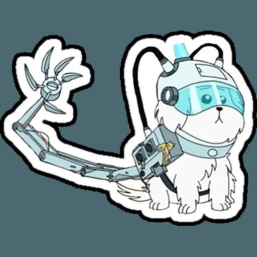 Rick & Morty 4 - Sticker 10