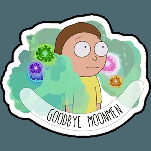 Rick & Morty 4 - Sticker 12