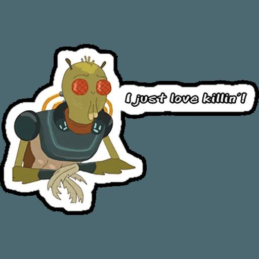 Rick & Morty 4 - Sticker 6