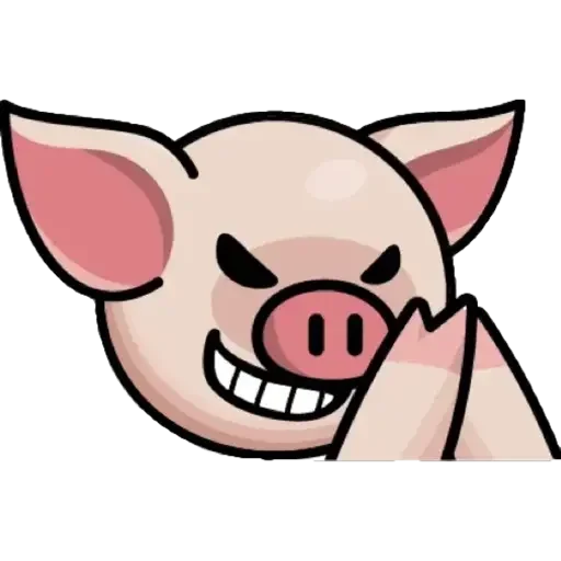 Lin pig - Sticker 6