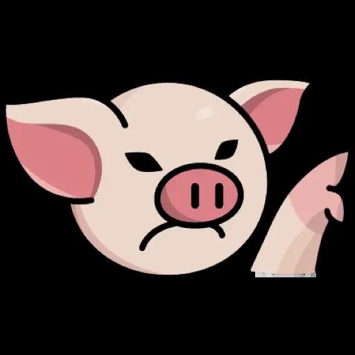 Lin pig - Sticker 10