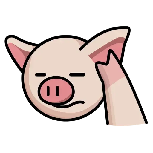 Lin pig - Sticker 13