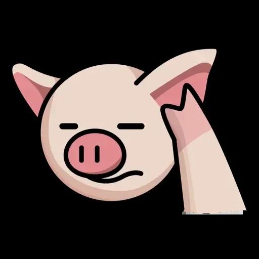Lin pig - Sticker 13