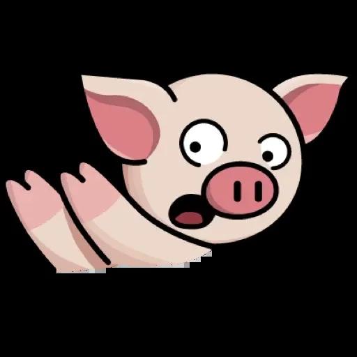 Lin pig - Sticker 11