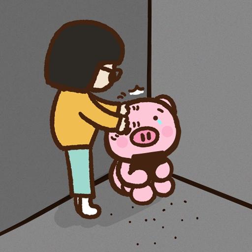 Meow家族與月巴豬仔 - Sticker 10