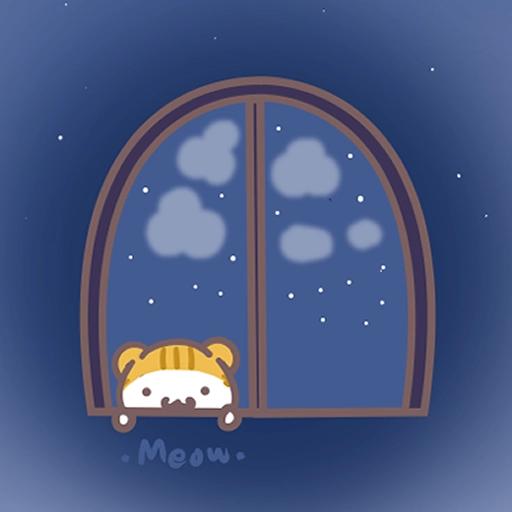 Meow家族與月巴豬仔 - Sticker 24
