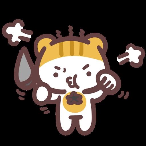 Meow家族與月巴豬仔 - Sticker 29