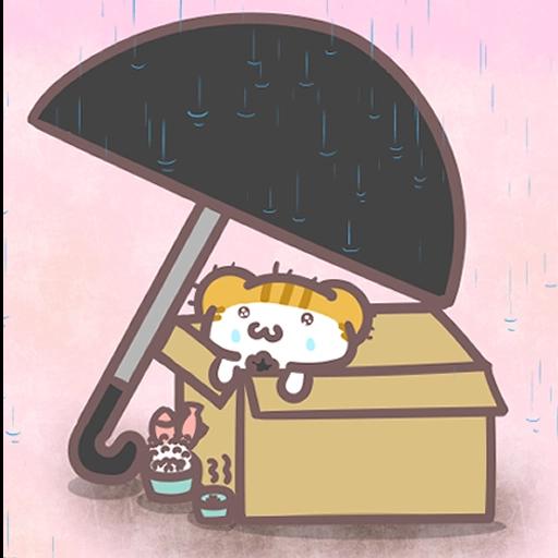 Meow家族與月巴豬仔 - Sticker 11