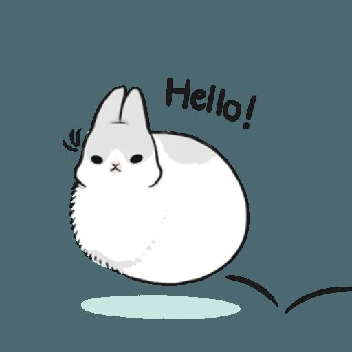 兔人 - Sticker 2