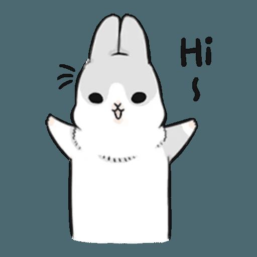 兔人 - Tray Sticker