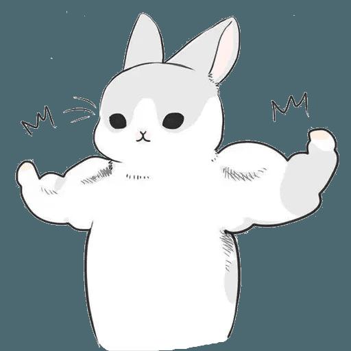 兔人 - Sticker 13