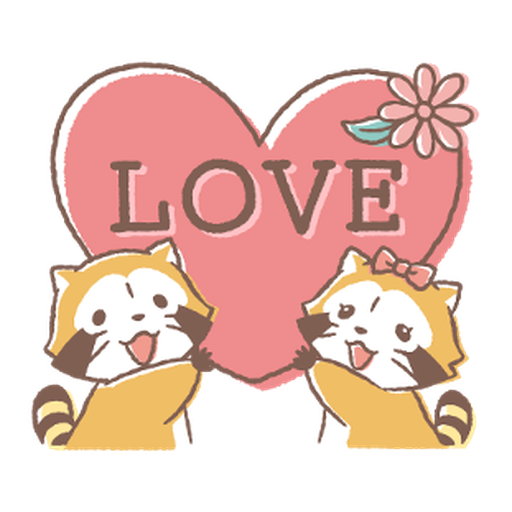 Rascal and Lily: Cordial Couple #2 - Sticker 4