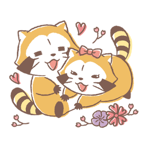 Rascal and Lily: Cordial Couple #2 - Sticker 13