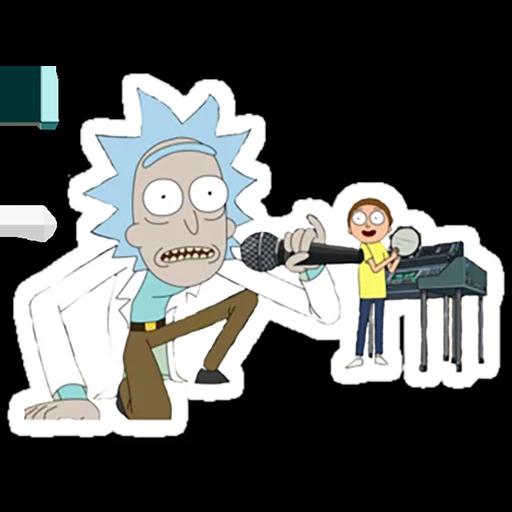 Rick & Morty 4 - Sticker 8