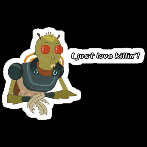 Rick & Morty 4 - Sticker 4