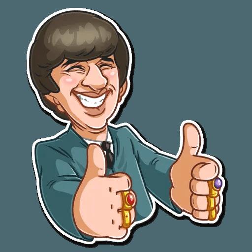 The Beatles - Sticker 21