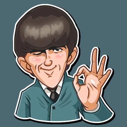 The Beatles - Sticker 6