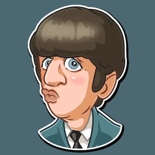 The Beatles - Sticker 4