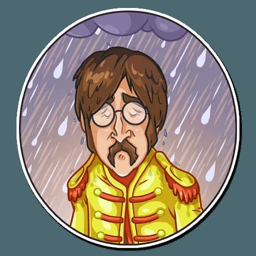 The Beatles - Sticker 23
