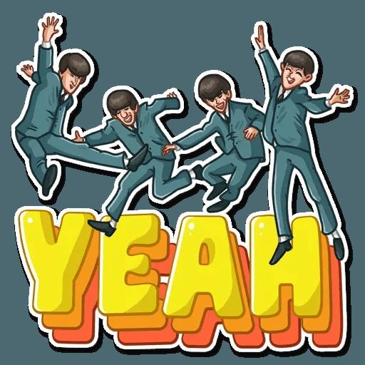 The Beatles - Sticker 8