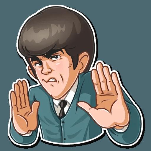 The Beatles - Sticker 18