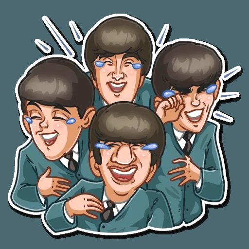 The Beatles - Sticker 9
