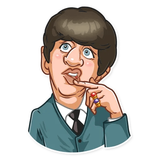 The Beatles - Sticker 10