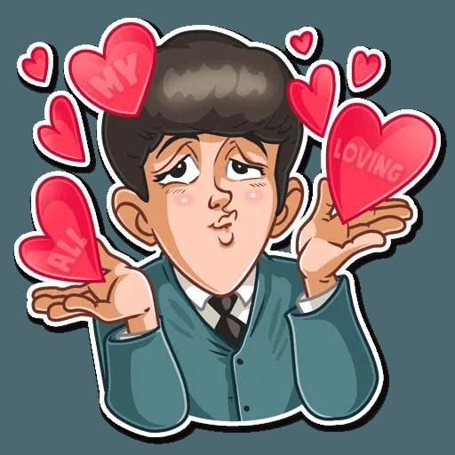 The Beatles - Sticker 22