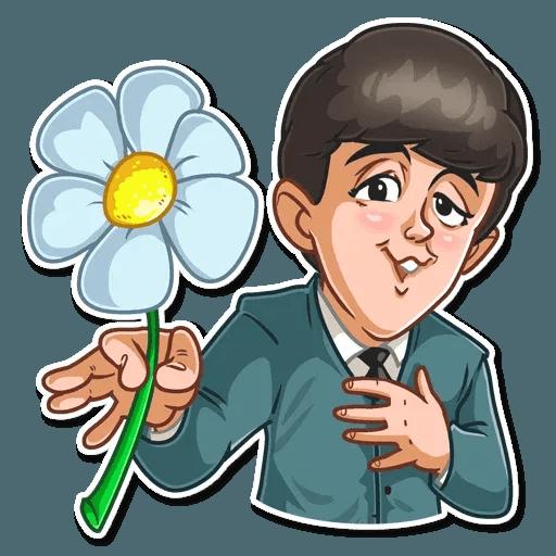 The Beatles - Sticker 15