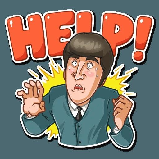 The Beatles - Sticker 2