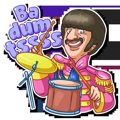 The Beatles - Sticker 3