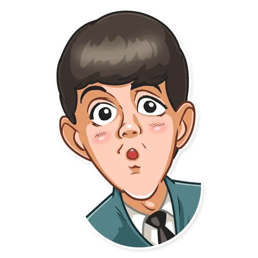 The Beatles - Sticker 14