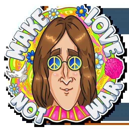 The Beatles - Sticker 20