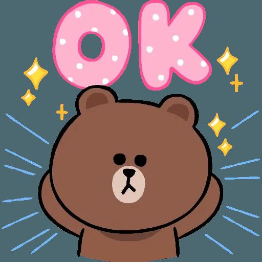 Line cute and soft - Sticker 21