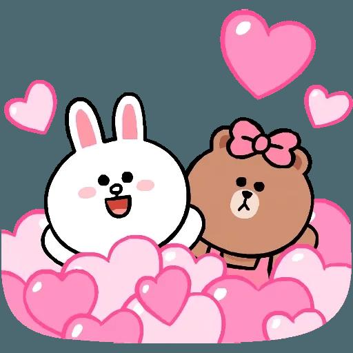 Line cute and soft - Sticker 24