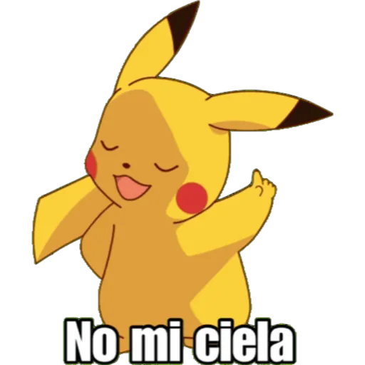 Pikachu - Sticker 9