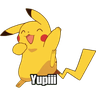 Pikachu - Tray Sticker