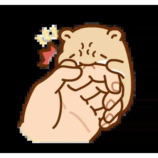 麻糬鼠鼠 - Sticker 15