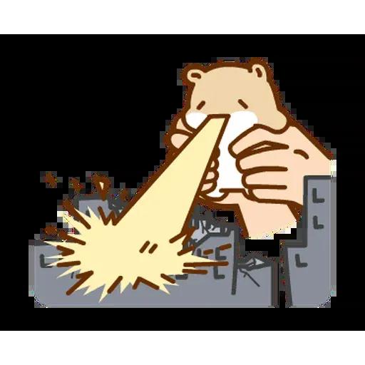 麻糬鼠鼠 - Sticker 10