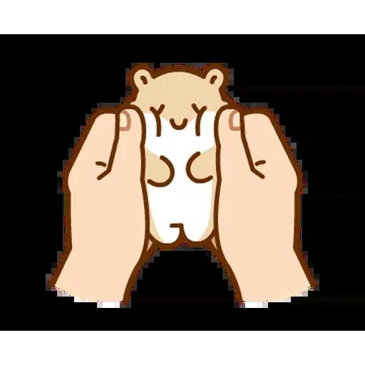 麻糬鼠鼠 - Sticker 19