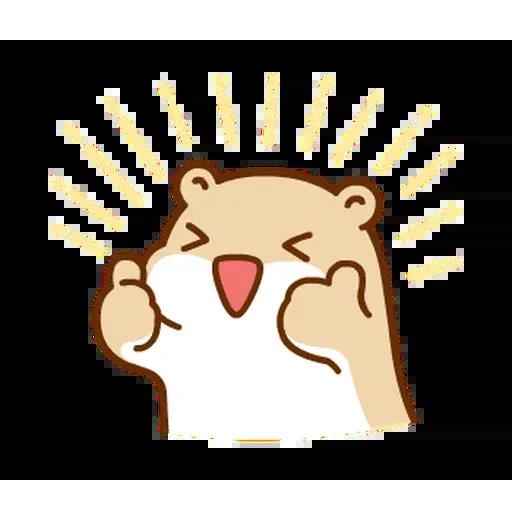 麻糬鼠鼠 - Sticker 4