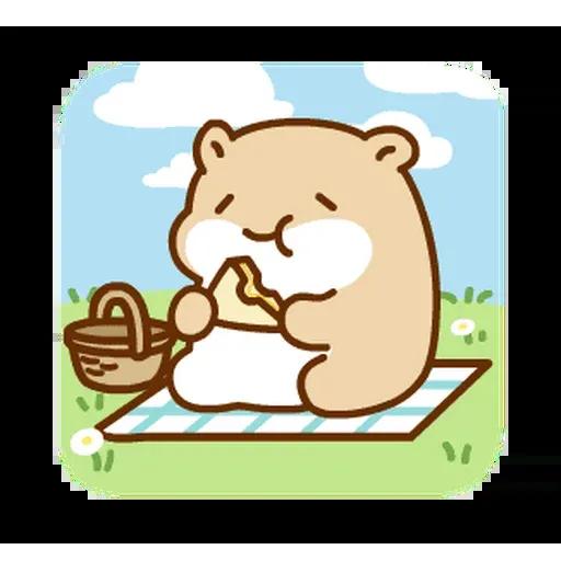 麻糬鼠鼠 - Sticker 17