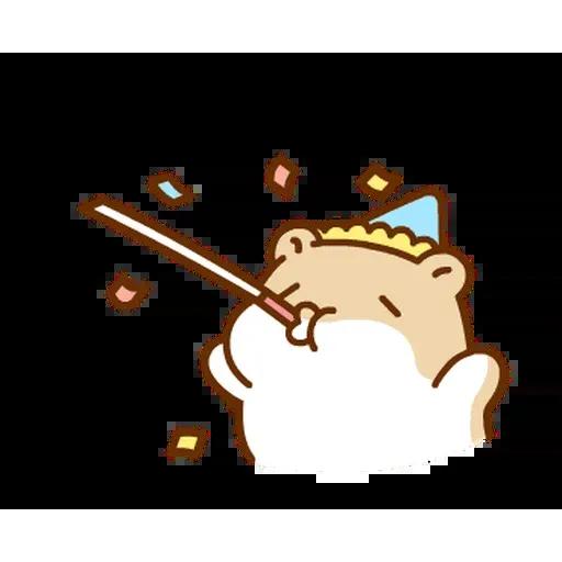 麻糬鼠鼠 - Sticker 9