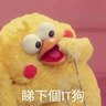 Docomo chicken - Tray Sticker