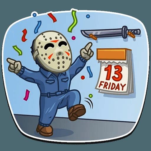 Horror - Sticker 8