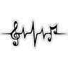 موزیک - Tray Sticker
