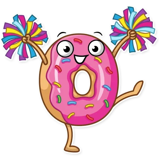 Donut and Coffe - Sticker 23