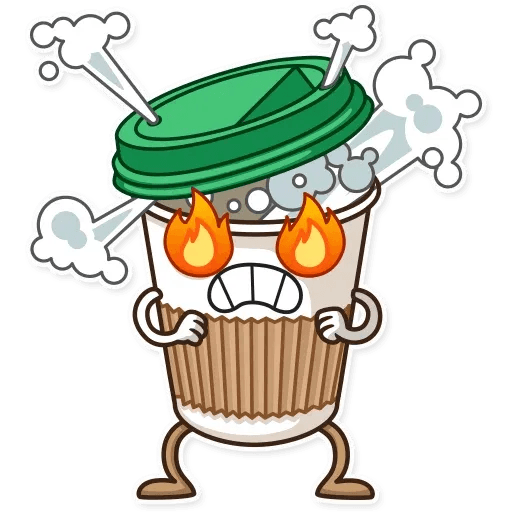 Donut and Coffe - Sticker 29