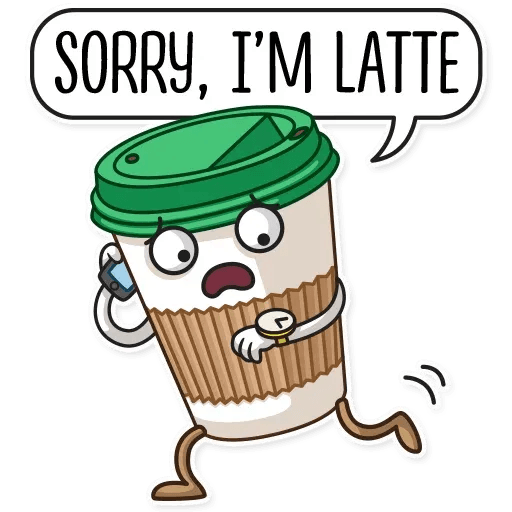 Donut and Coffe - Sticker 13